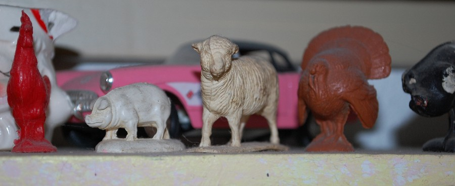 sheep shelf