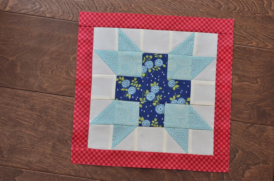 camile july aurifil block 1
