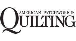 american patchwork and quilting logo
