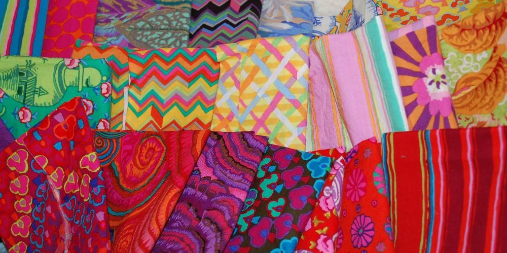 artist unsewn patchwork quilt