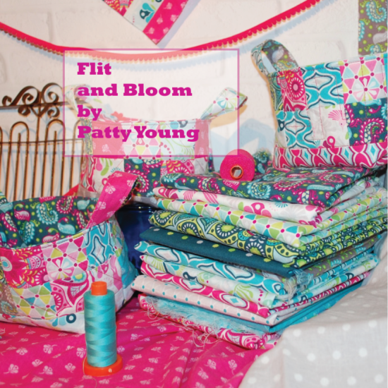 Patty Young Blog Tour, Flit and Bloom, Patty Young Fabric, Riley Blake Fabrics, Christmas 1964 Quilt Pattern, Blue Nickel Studios, Blue Nickle Studios, Scott Hansen Quilts,. Quilting, Patchwork, Feminine Fabrics, Teal, Pink, Grey, Gray