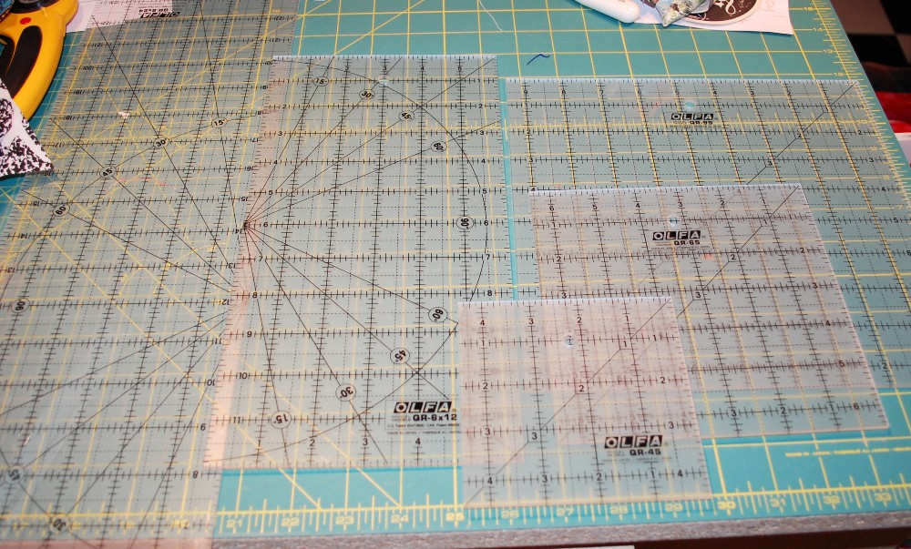 #OLFAholidays, OLFAholidays, Olfa Rulers, Scott Hansen Quilts, Olfa rulers, Blue Nickel Studios, Patchwork Quilting