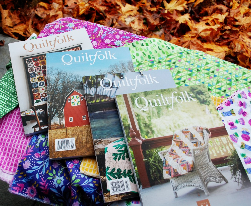 Urban Folk Style, Mid century modern, Book Club, New Vintage, Modern Old-fashioned, Sewing and Decor books, Quiltfolk magazine, Flourish Fabric for Windham fabrics