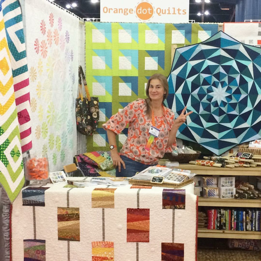 Orange Dot Quilts, Dora Cary, Modern Quilting, Quilting, Fresh Perspective