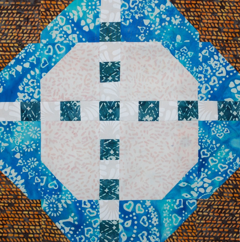 Aurifil Designer of the Month, Blue Nickel Studios, aurifil thread, quilting, modern quilting, Free quilt block pattern, the places we go, Auribuzz, Block of the month, Birch Tree, Patchwork, banyan batiks, modern batiks
