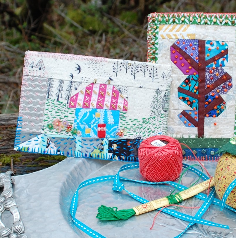 Wish Upon a Card Postcards, Sisters Outdoor Quilt Show, Sisters Oregon, Stichin' Post