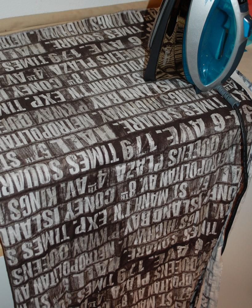 tim holtz subway fabric