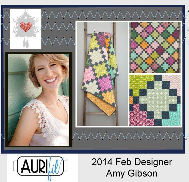 2014 Amy Gibson Feb Aurifil designer button