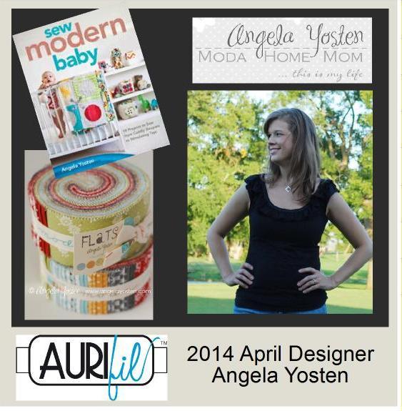 2014 Angela Yosten Apr Aurifil designer button