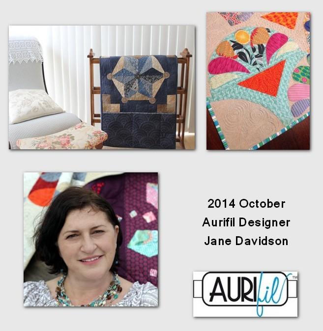 aurifil october designer of the month jane davidson