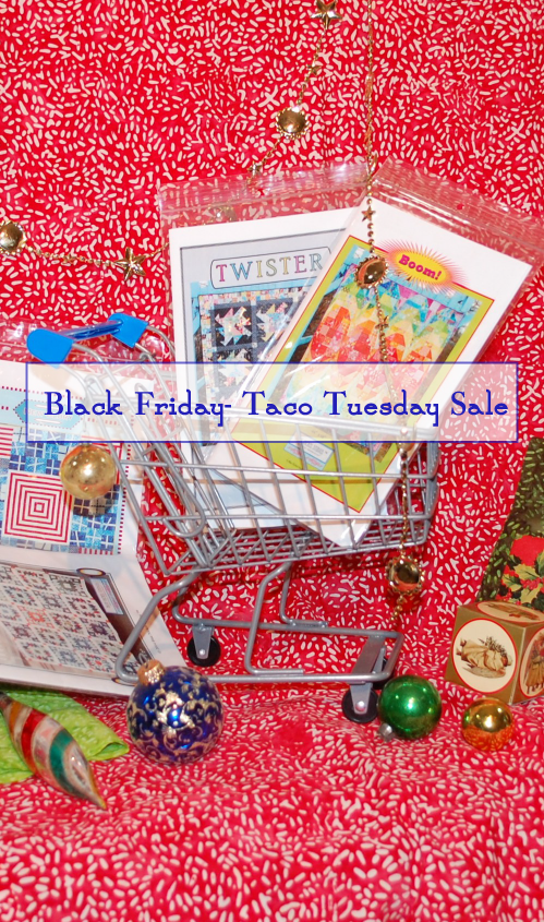 Black Friday Sale, Blue Nickel Studios, Modern Quilt patterns