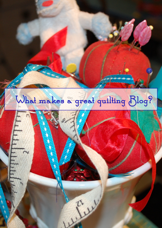 Great Quilting Blog, Informal Survey, Blue Nickel Studios, What Makes a Great Blog? Fabric Reviews? Interviews? Puzzles? Why do you read blogs?