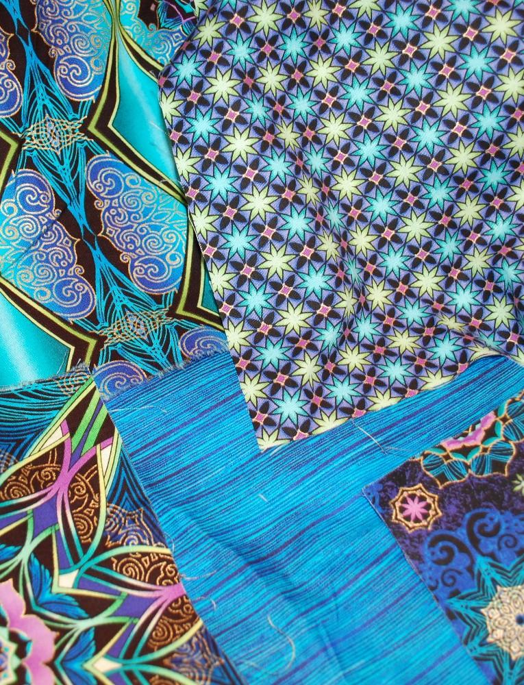 Mystique Fabric, Katia Hoffman, Windham Fabrics, Winter elegance, Quilting, Snowball blocks
