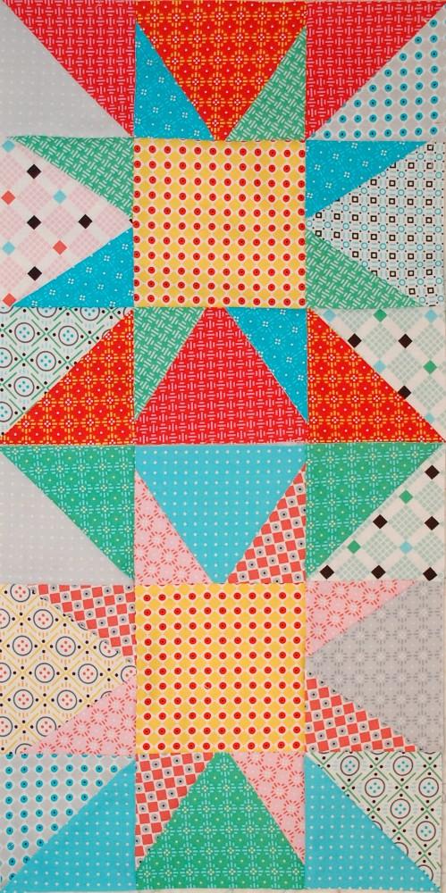 New Vintage Fabric, Uppercase Volume 2, Janine Vangool, Windham Fabrics, Quilting, Blue Nickel Studios, ManQuilter, Scott Hansen Quilts, Scott Hanson Quilts, Blue Nickle Studios, Modern quilting, Sparkle Quilt