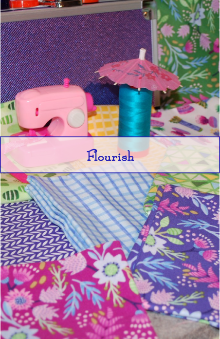 Flourish Line, Mia Whittemore, Windham Fabrics, Spring Colors, Summer Colors, aurifil thread