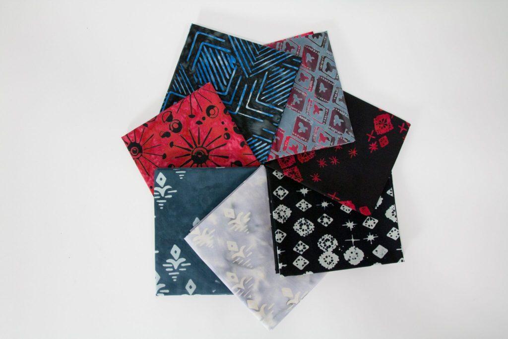 Fabric story, Tie One On, Banyan Batiks, Scott Hansen Fabric Design, Designer Batiks, Blue Nickel Studios, Urban Folk, Modern Batik, Batik fabric, Northcott fabrics, quilting, tertiary colors, modern quilting, men who quilt, men who sew, man sewing,