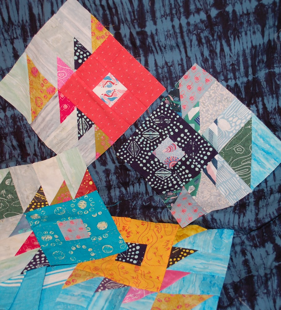 Something Fishy Sew Along with Ocean Park by Blue Nickel Studios for Banyan Batiks